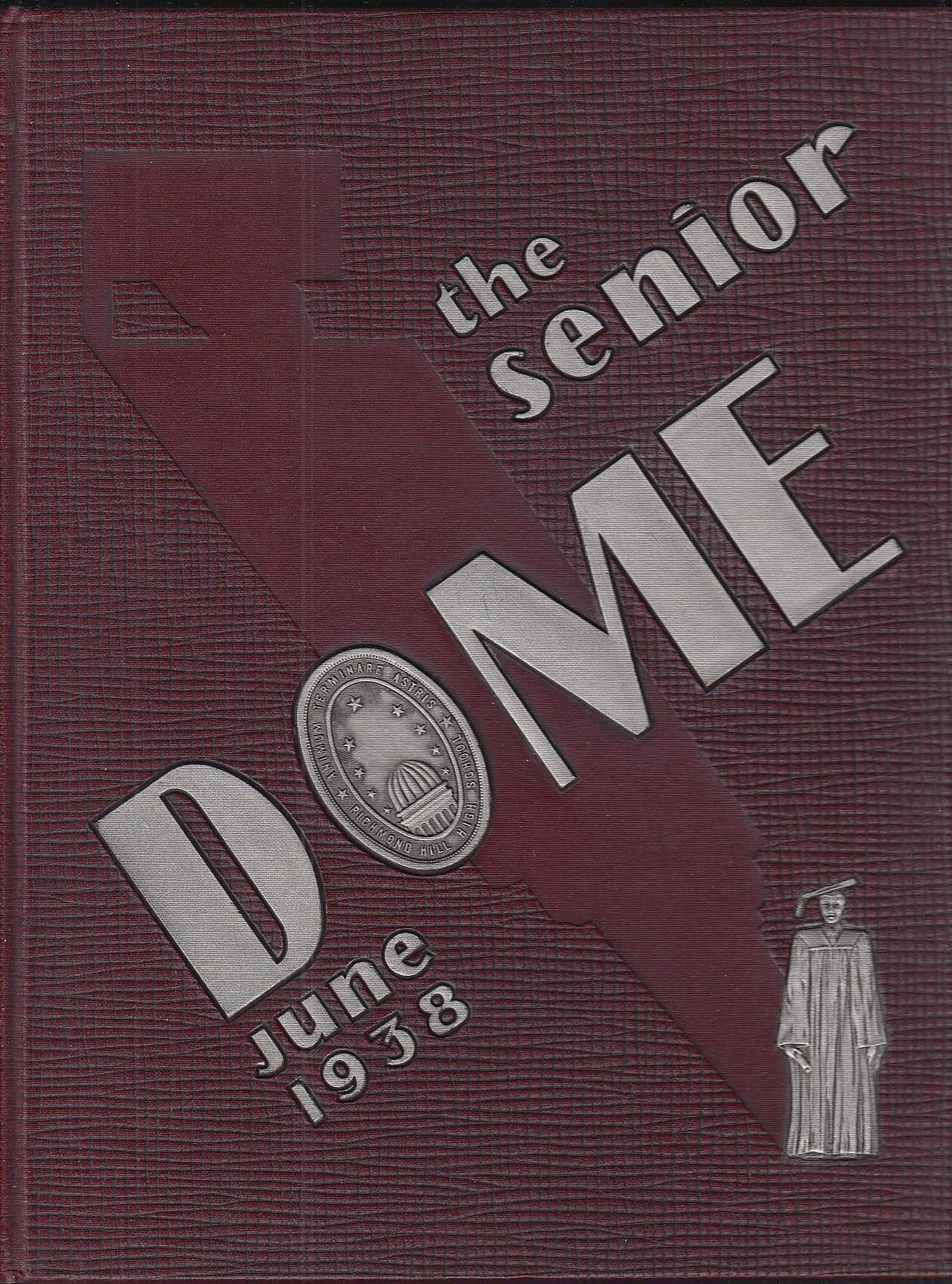 Image for The Senior Dome 1938 Yearbook Richmond High School NY