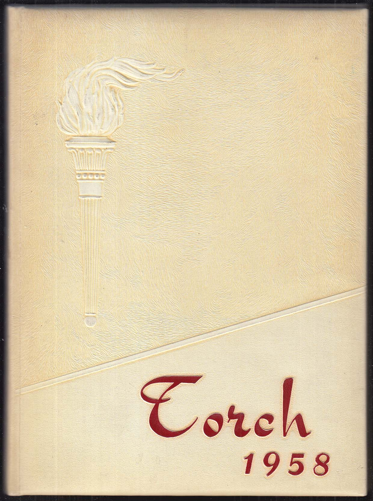 Image for The Torch 1958 Bristol High School Yearbook Bristol Connecticut