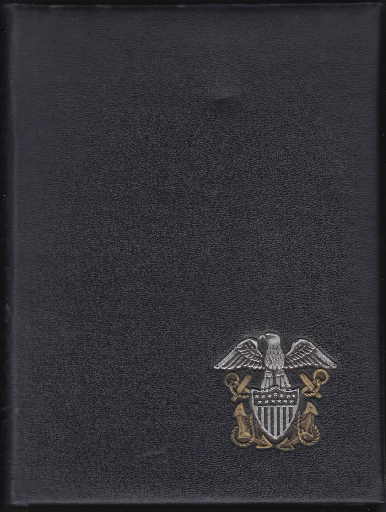 Image for United States Naval Reserve Midshipmen's School Side Boy 1945 Yearbook New York