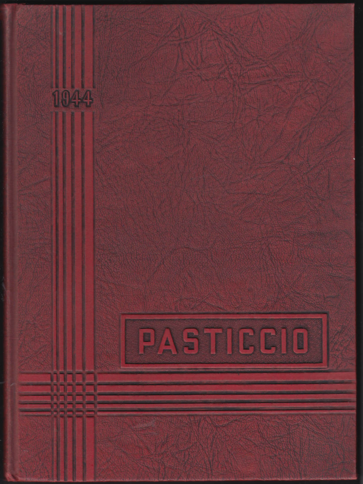 Image for Clark University Pasticcio 1944 Yearbook Worcester Massachusetts