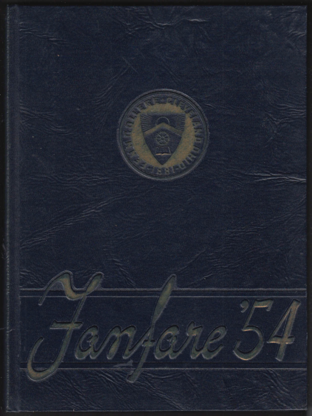 Image for Fanfare 1954 Yearbook Fenn College Cleveland Ohio