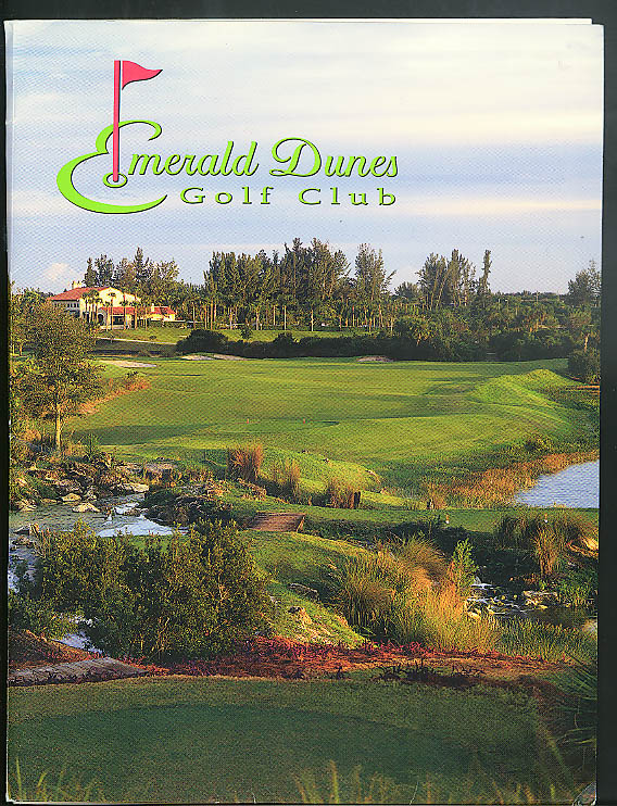 Image for Emerald Dunes Golf Club 2005 Membership Information Folder
