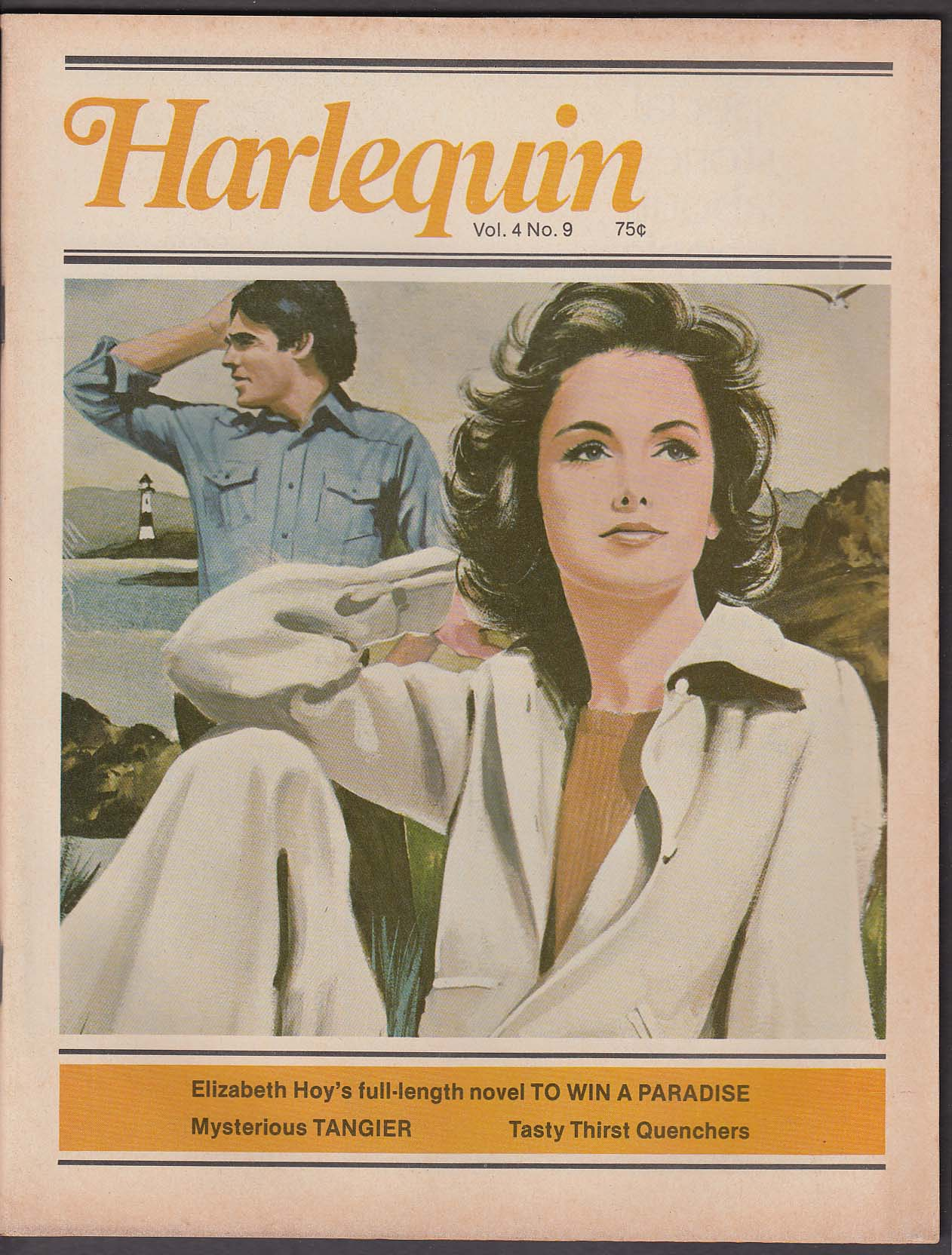 Image for HARLEQUIN V4 #9 Elizabeth Hoy Trilby James ++ 1976