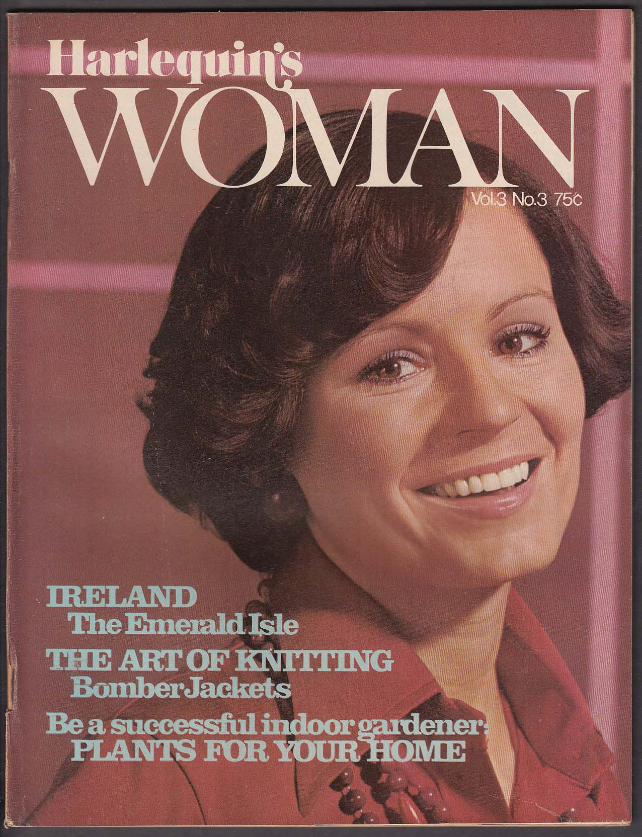Image for HARLEQUIN'S WOMAN V3 #3 Sara Seale Rebecca Stratton Knitting Ireland + 1973
