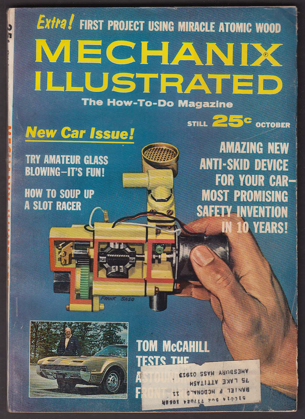 Image for MECHANIX ILLUSTRATED 1966 Plymouth Belvedere road test ++ 10 1965