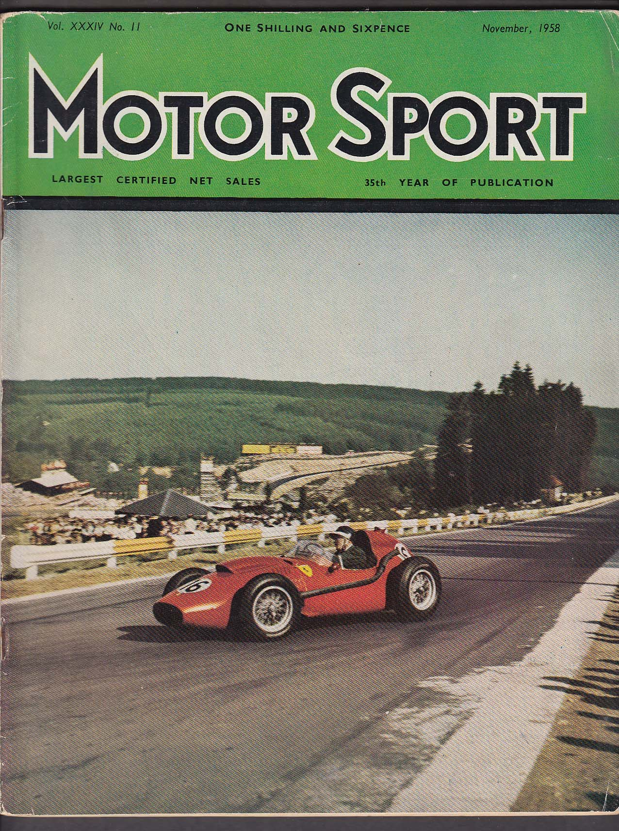 Image for MOTOR SPORT 440 Skoda road test Morocco Grand Prix Armstrong Siddeley + 11 1958