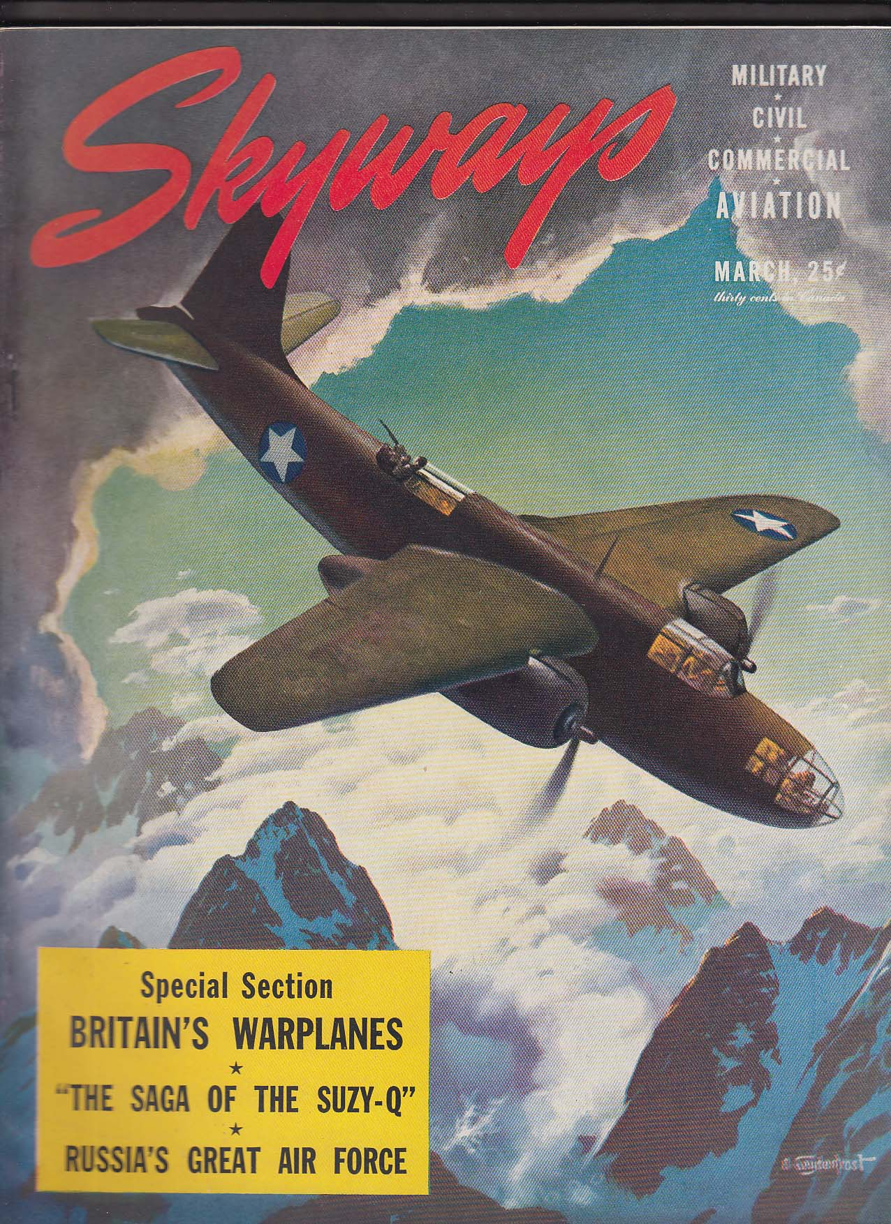 Image for SKYWAYS Lockheed Constellation Interceptor Command ++ 3 1943