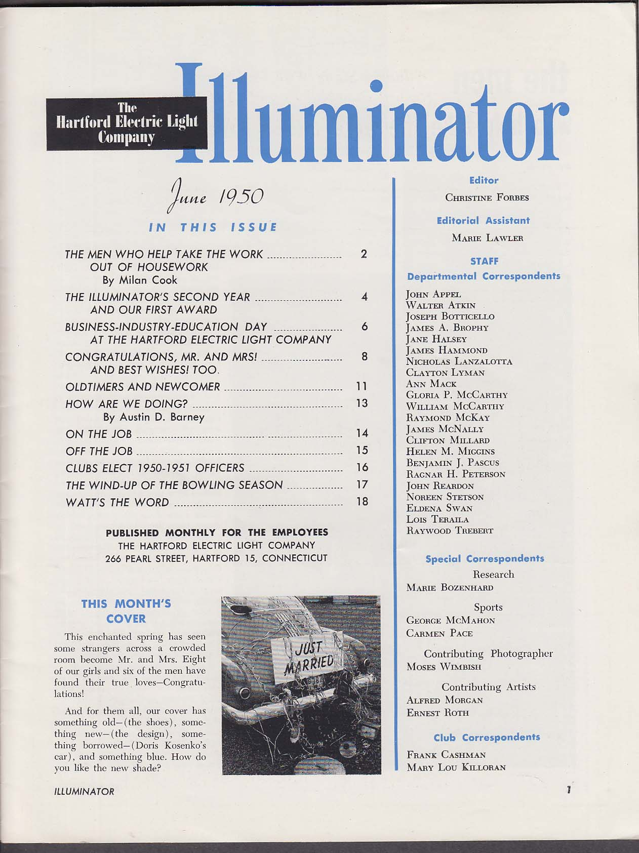 Image for ILLUMINATOR Hartford Electric Light Company Business-Industry-Education 6 1950