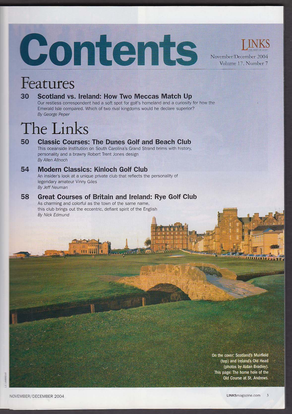Image for LINKS Scotland Ireland Dunes Kinloch Rye Club +  11-12 2004