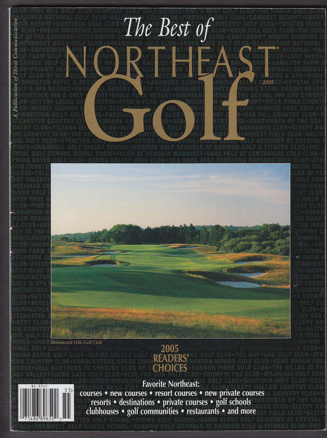 Image for Best of NORTHEAST GOLF 2005 Shinnecock Hills Crystal Springs Vermont ++
