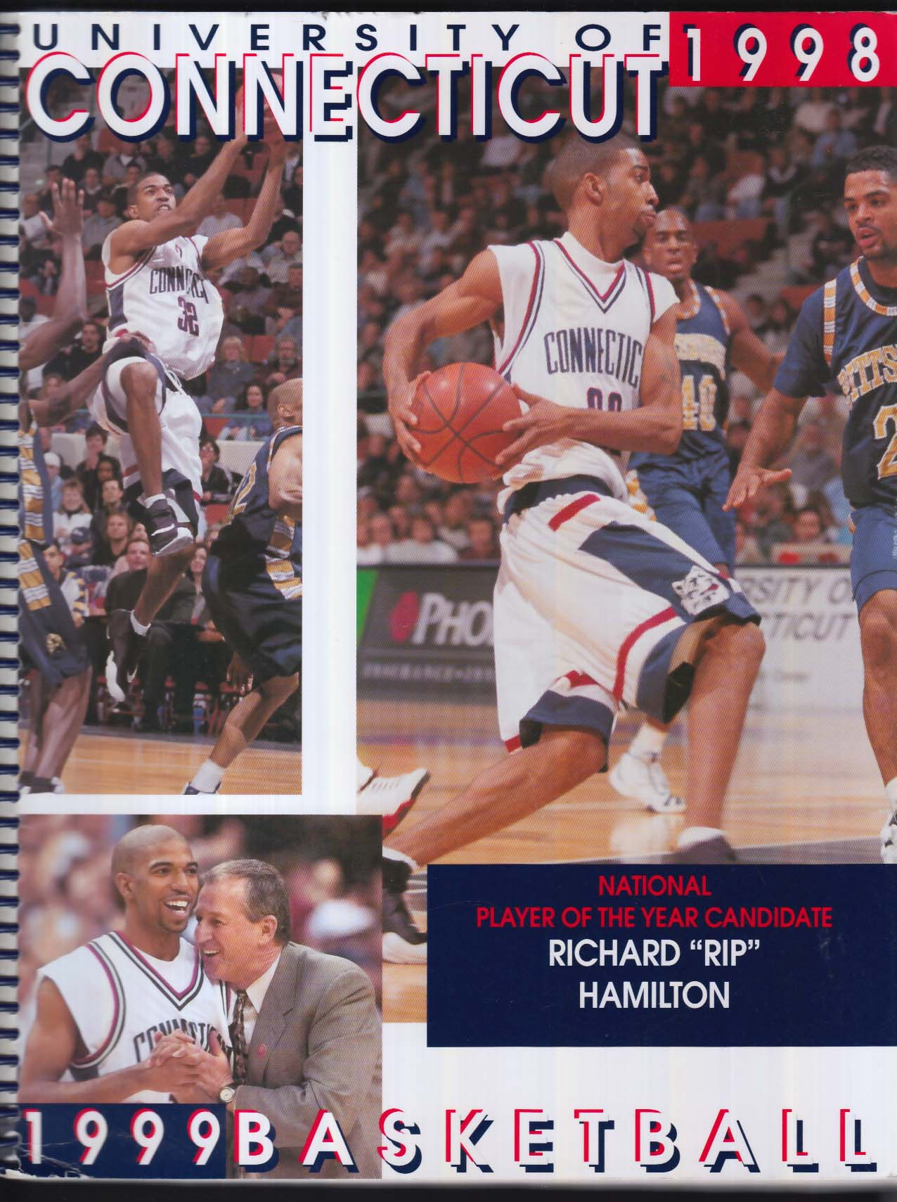 Image for University of Connecticut 1998-1999 Basketball Rip Hamilton