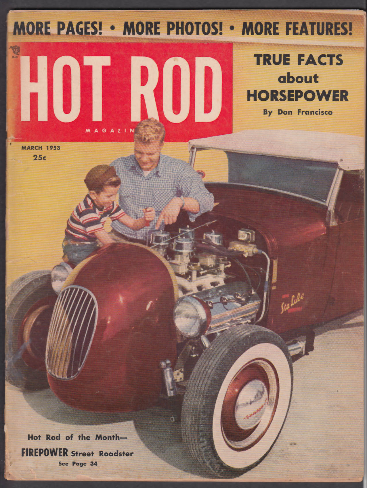 Image for HOT ROD Pan-American Road Race Lincoln 1939 Ford Model T ++ 3 1953