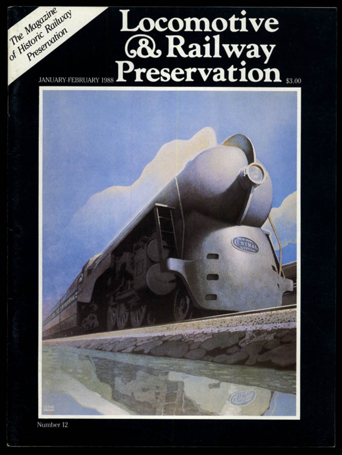 Image for LOCOMOTIVE & RAILWAY PRESERVATION 1-2 1988 NYC Hudsons; Albany Union Station