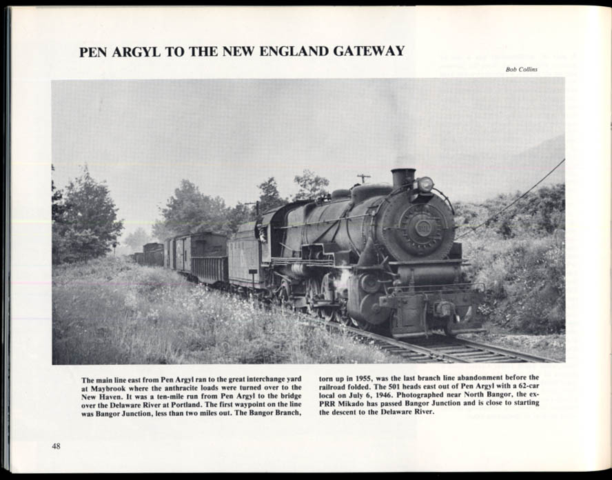 Image for Lehigh & New England Railroad monograph 1980 Carstens Publications