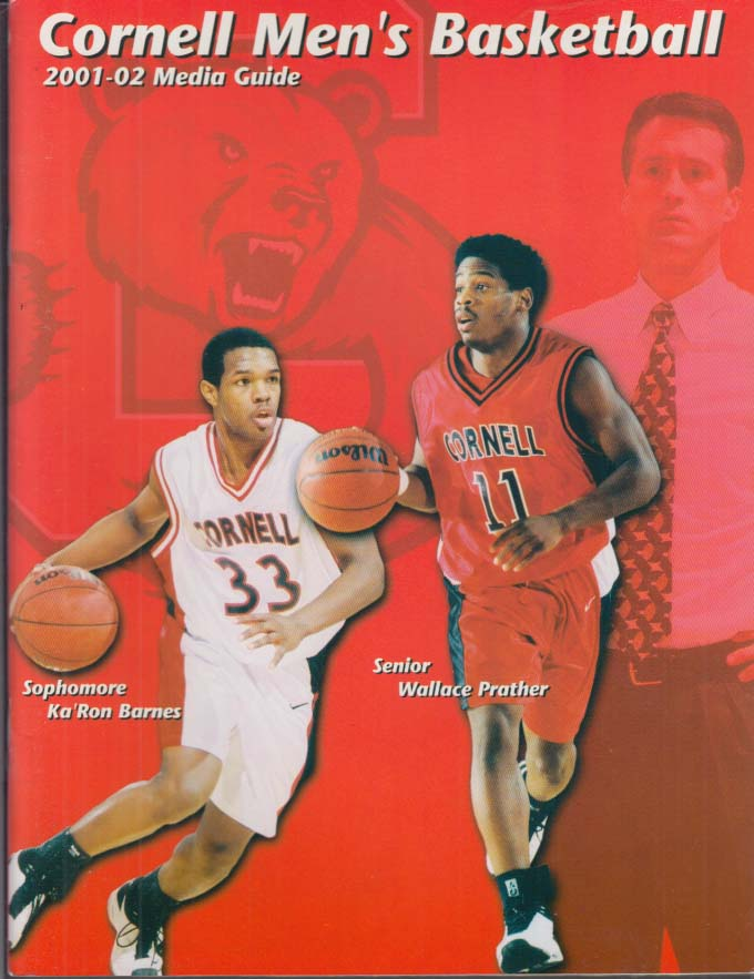 Image for Cornell University Men's Basketball Media Guide 2001-2002