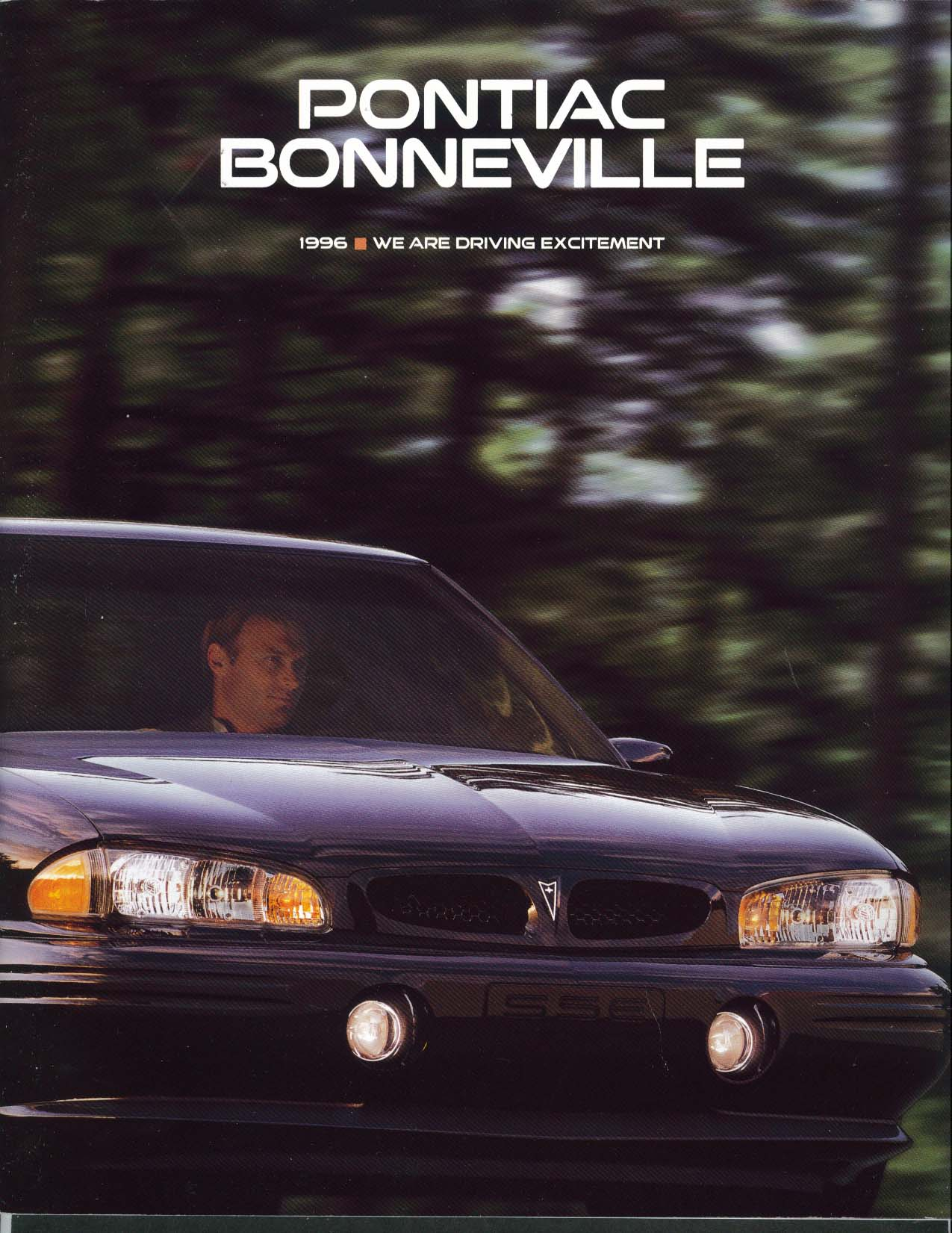 Image for Pontiac Bonneville 1996 sales brochure Olympic Sponsor