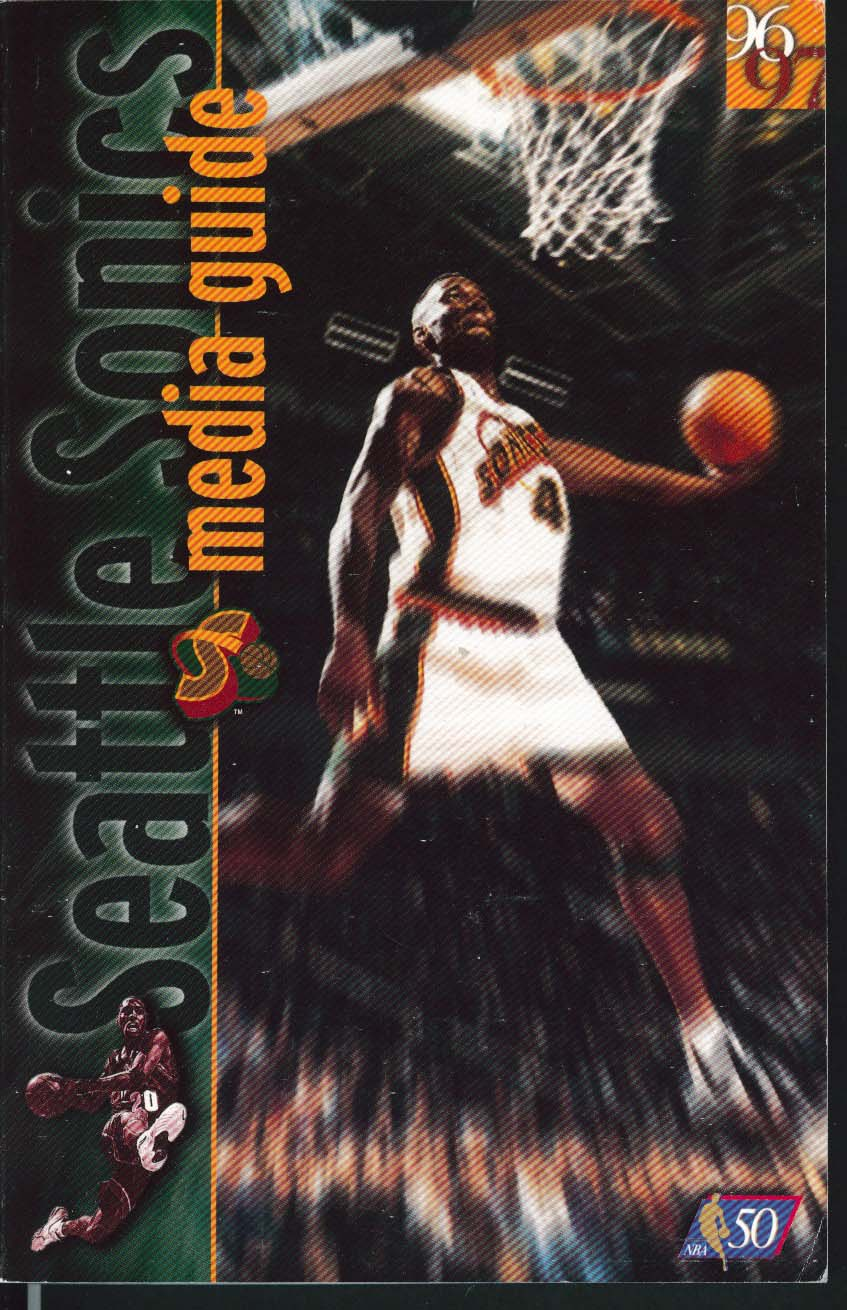 Image for Seattle Sonics 1996 1997 NBA Media Guide