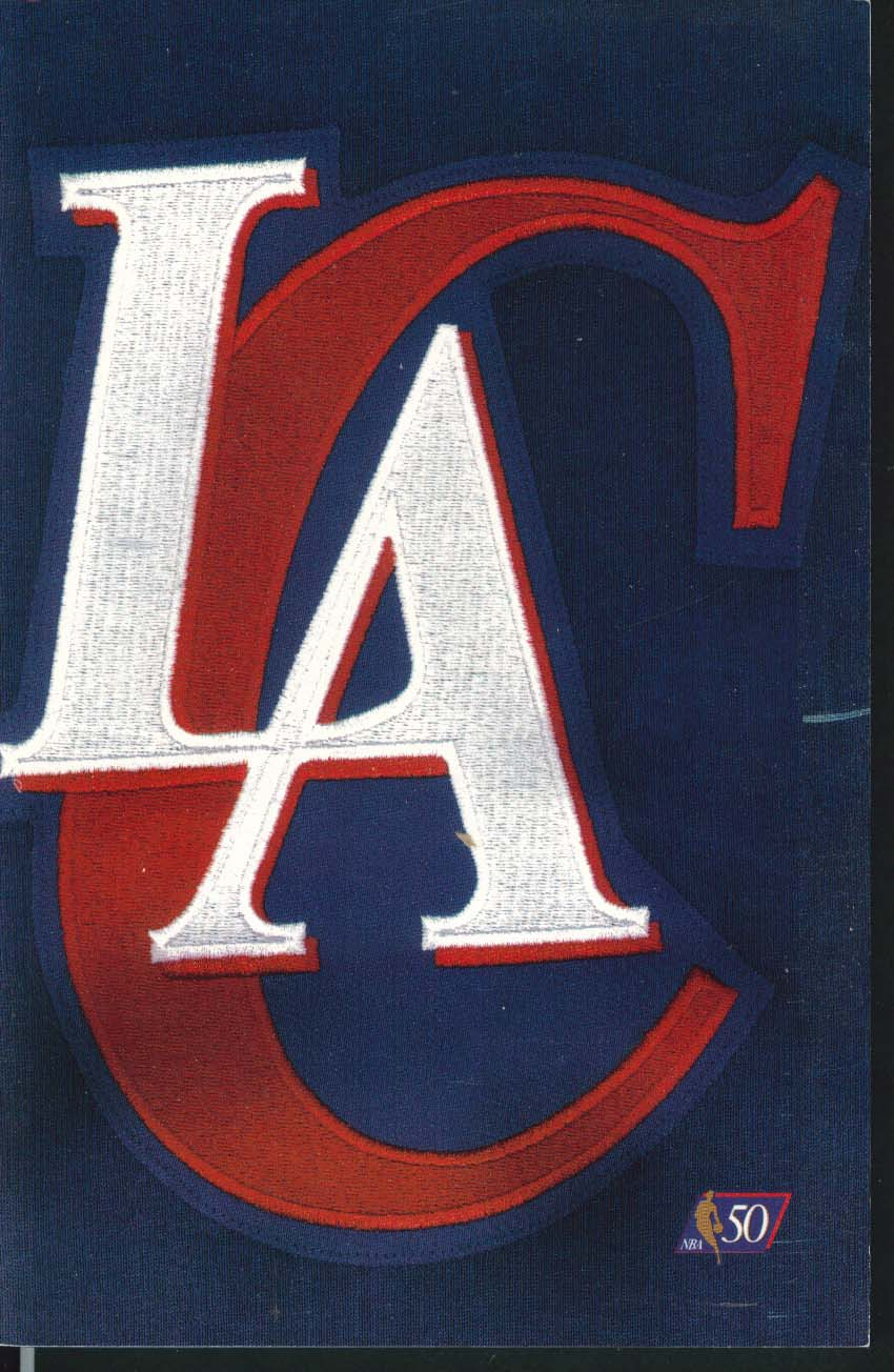 Image for Los Angeles Clippers 1996 1997 NBA Media Information Guide