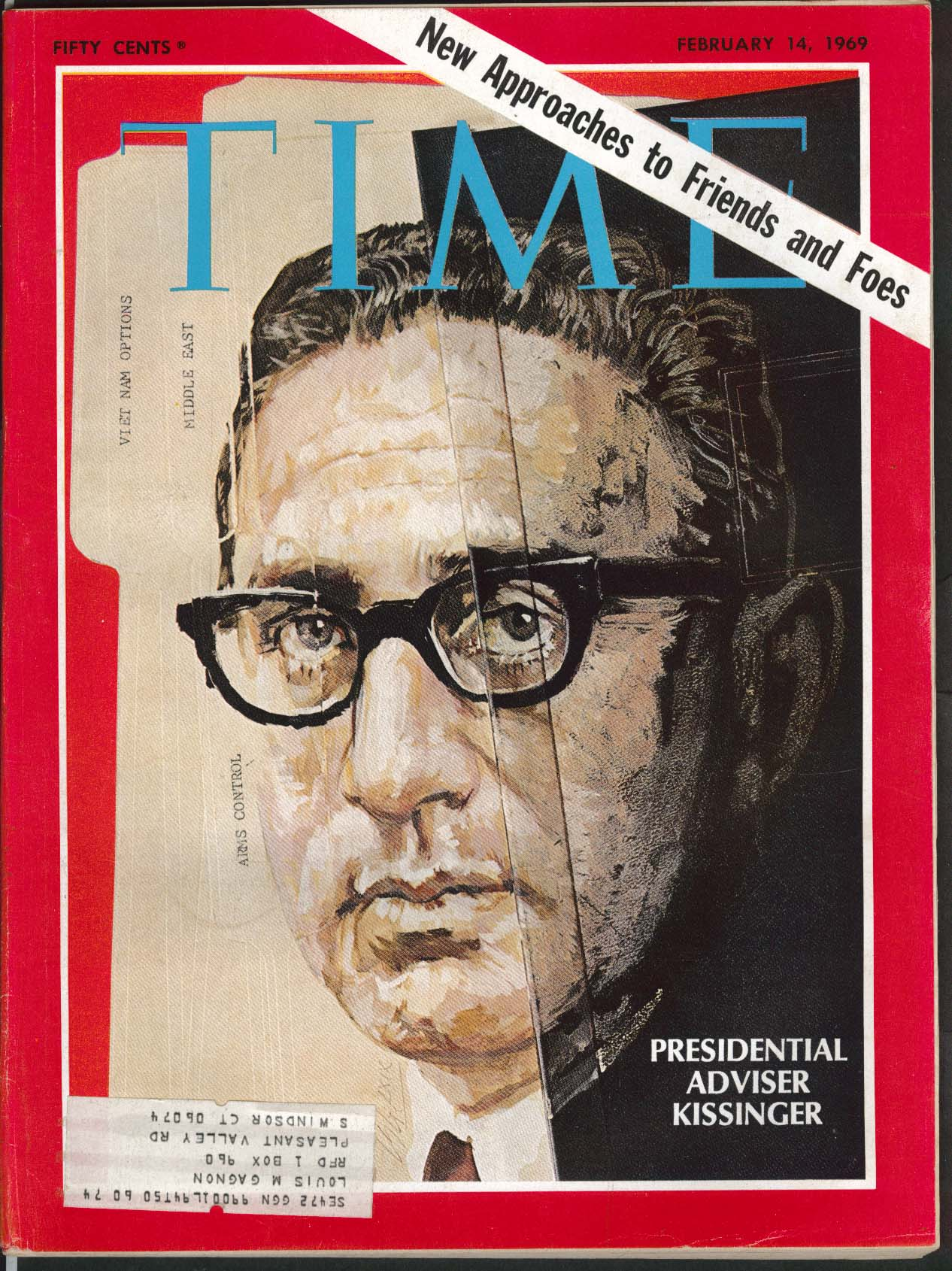 Image for TIME Kissinger Nixon Union Oil Accident Santa Barbara Reagan Arafat 2/14 1969