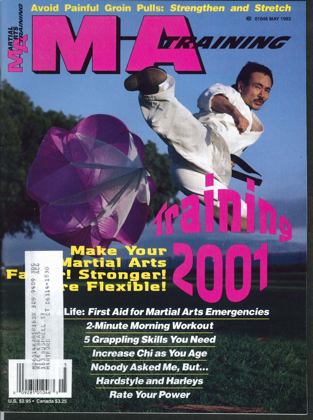 Image for MARTIAL ARTS MA TRAINING Training 2001 Chi Power Groin Pull Avoidance 5 1993