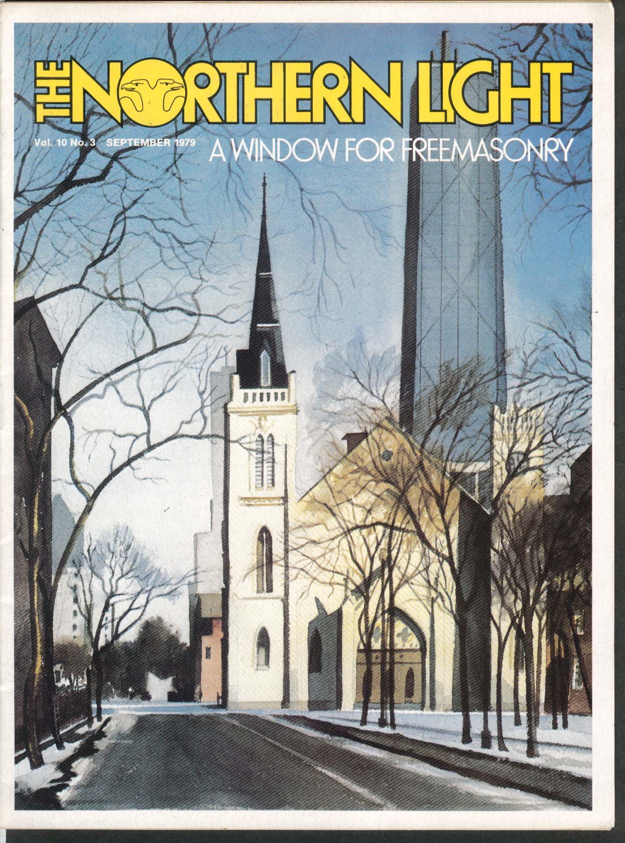 Image for NORTHERN LIGHT Vol 10 #3 John Coustos David Roszel Dalhousie Mason Lodge 9 1979
