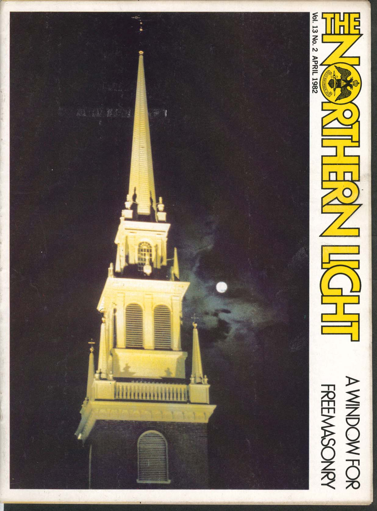 Image for NORTHERN LIGHT Vol 13 #2 Old North Church Endorphins Michigan Masons 4 1982