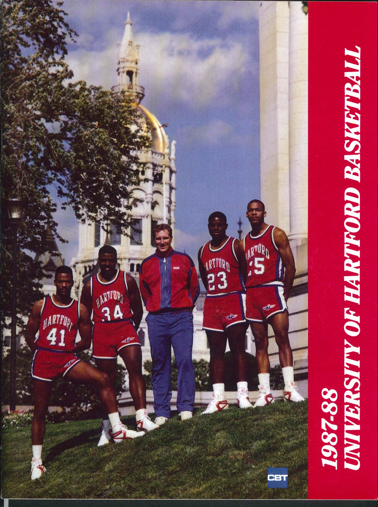 Image for University of Hartford Hawks Basketball 1987 1988 Media Guide Yearbook