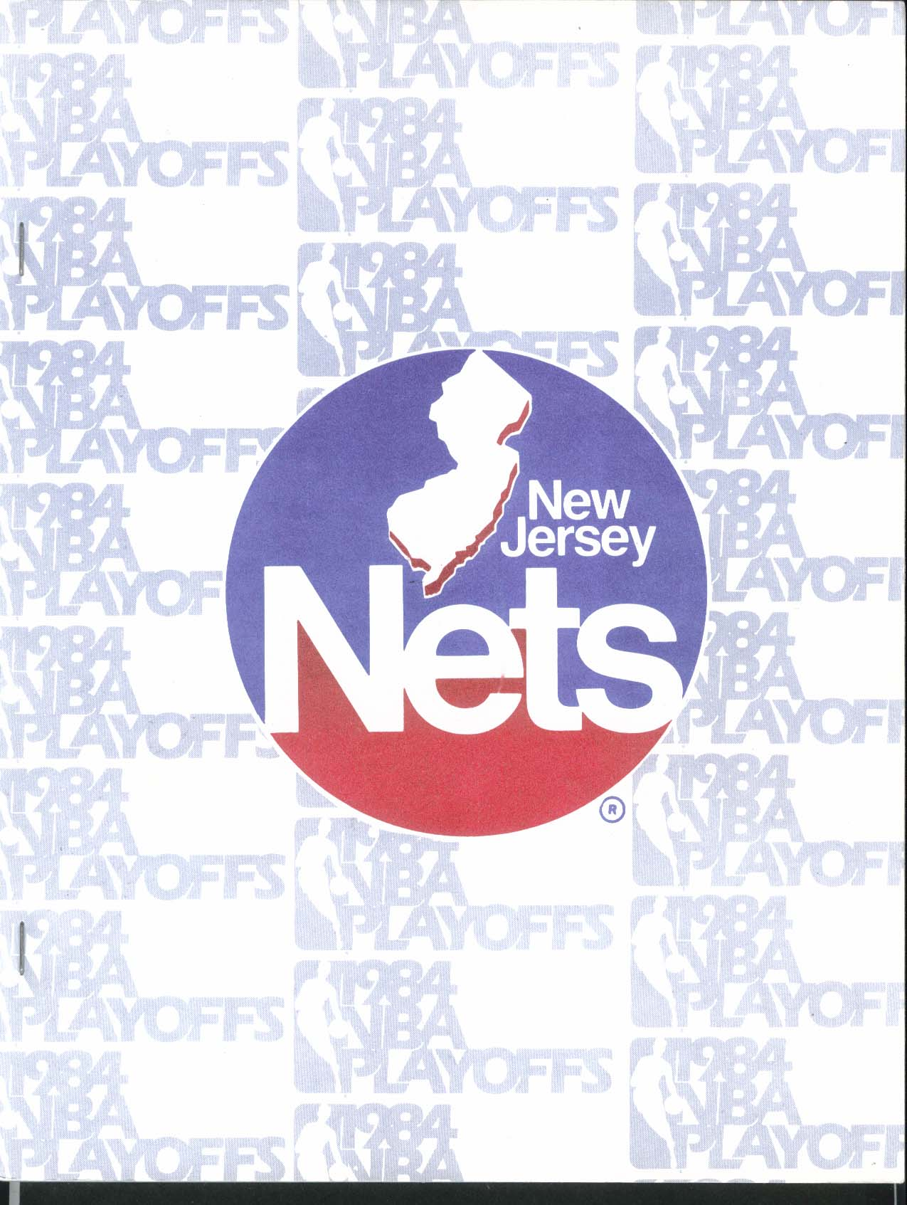 Image for New Jersey Nets 1984 NBA Playoffs Media Guide